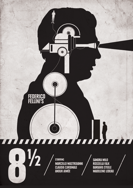 Fellini's-8-12-movie-poster